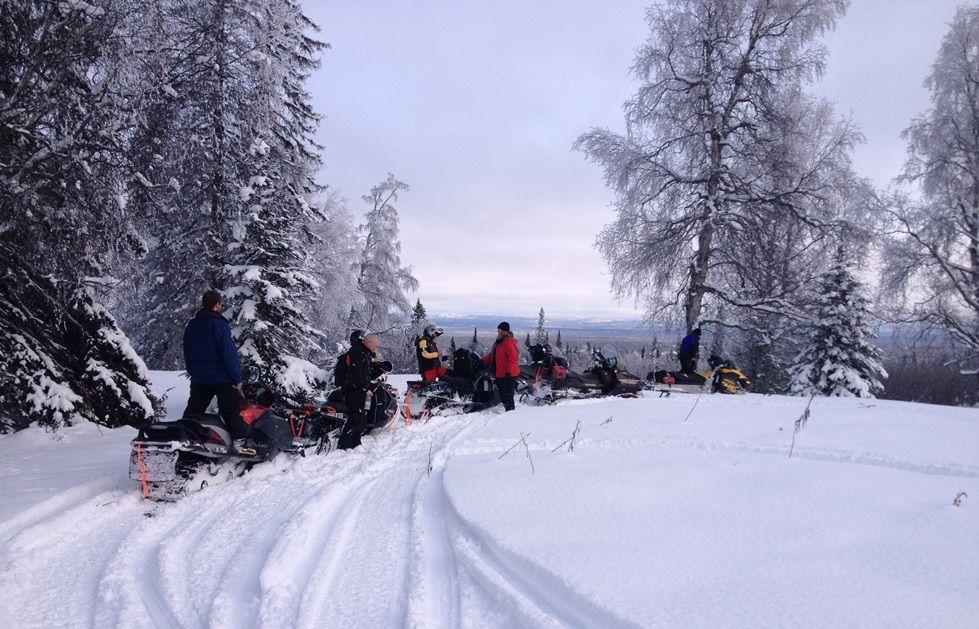 Bunco Bump 2/25/17 !  Day ride in fantastic powder-snow conditions