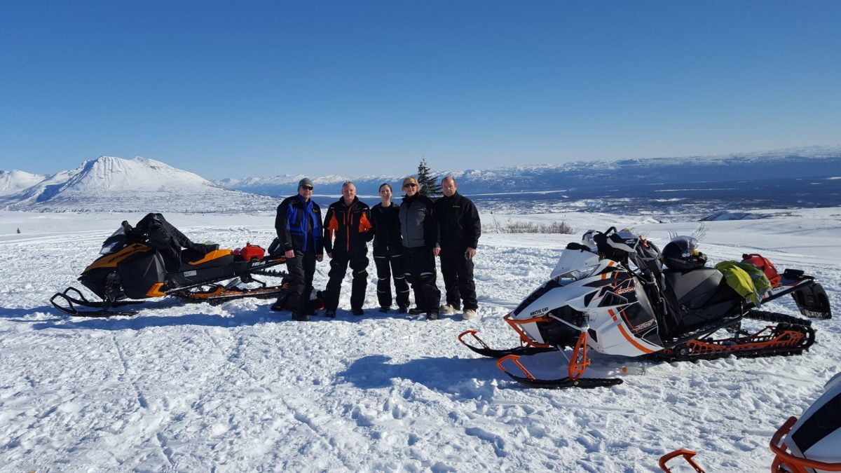 High Country day ride !  South Denali Mountains 3/18/17